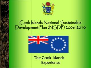 Cook Islands National Sustainable Development Plan (NSDP) 2006-2010
