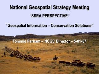 National Cartography & Geospatial Center Strategic Plan