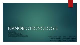 NANOBIOTECNOLOGIE