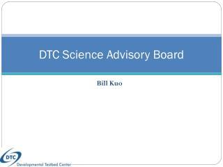 DTC Science Advisory Board