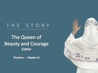 The Queen of Beauty and Courage Esther The Story --  Chapter 20