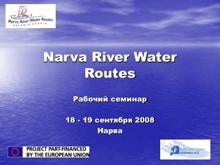 Narva River Water Routes