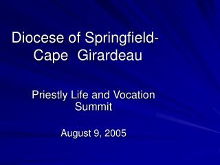 Diocese of Springfield-Cape Girardeau