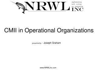 CMII in Operational Organizations