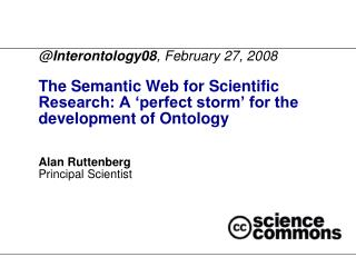@ Interontology08 , February 27, 2008