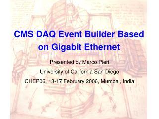 CMS DAQ Event Builder Based on Gigabit Ethernet