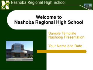 Welcome to  Nashoba Regional High School