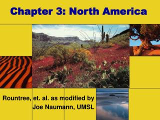Chapter 3: North America