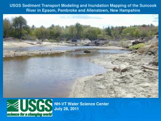 NH-VT Water Science Center July 28, 2011