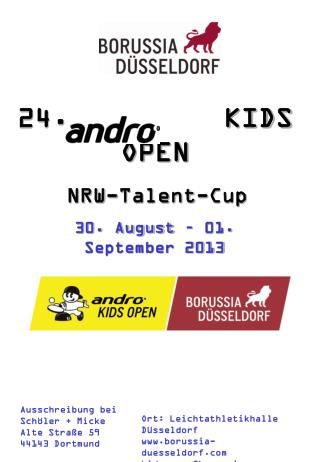 24.       			KIDS OPEN NRW-Talent-Cup