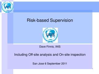 Risk-based Supervision