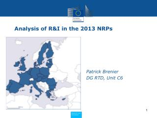 Analysis of R&I in the 2013 NRPs