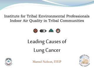Institute for Tribal Environmental Professionals Indoor Air Quality in Tribal Communities
