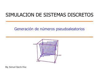 Generación de números pseudoaleatorios