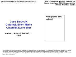Case Study #X Outbreak/Event Name Outbreak/Event Year Author1, Author2, Author3,…. Date