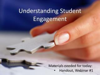 Understanding Student Engagement