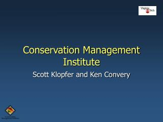 Conservation Management Institute