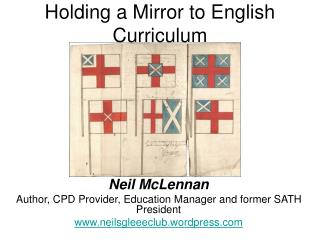 Holding a Mirror to English Curriculum