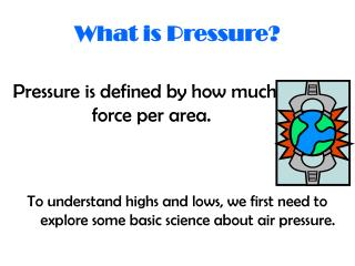 What is Pressure