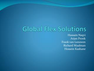 Global  Flex Solutions