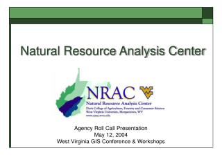 Natural Resource Analysis Center