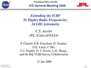 IVS General Meeting 2006