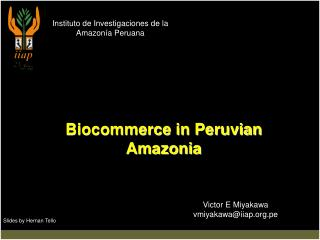 Instituto de Investigaciones de la Amazon�a Peruana