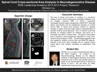 Spinal Cord Cross-sectional Area Analysis in Neurodegenerative Disease