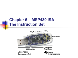 Chapter 6   MSP430 Micro-Architecture