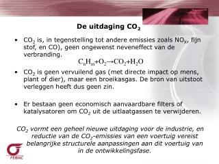 De uitdaging CO 2