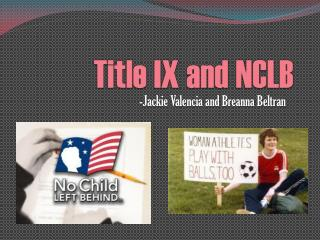 Title IX and NCLB