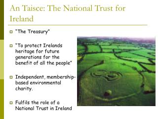An Taisce: The National Trust for Ireland