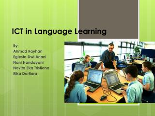 ICT in Language Learning