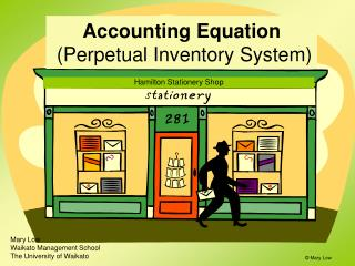 Accounting Equation  Perpetual Inventory System