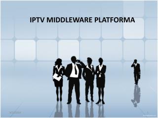 IPTV MIDDLEWARE  PLATFORM A