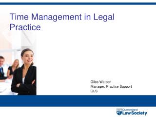 Time Management in Legal Practice