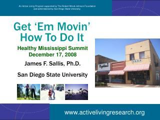 Get 'Em Movin' How To Do It