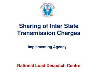 Sharing of Inter State Transmission Charges