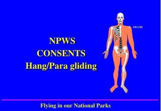 NPWS CONSENTS  Hang/Para gliding