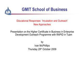 GMIT School of Business