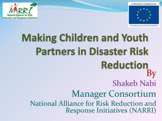Making Children and Youth Partners in Disaster Risk Reduction