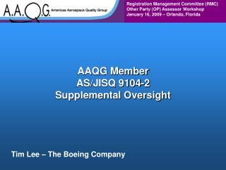 AAQG Member AS