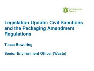 US EPA study on compliance