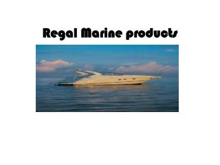 Regal Marine products