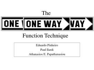 Function Technique