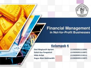 Financial Management in Not-for-Profit Businesses