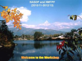 NASDP and NMTPF  (2010/11-2012/13)