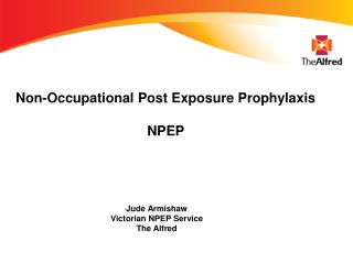 Non-Occupational Post Exposure Prophylaxis NPEP