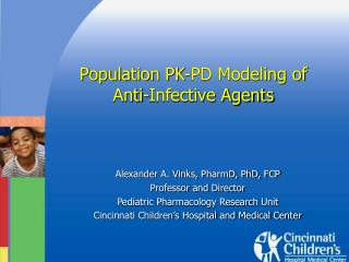 Population PK-PD Modeling of  Anti-Infective Agents