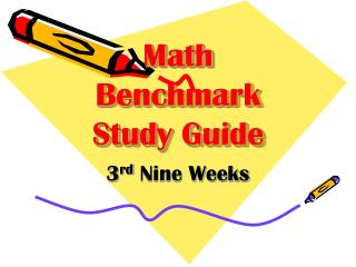 Math Benchmark Study Guide